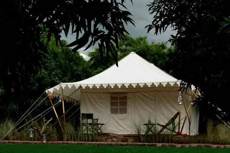 Ranthambore Forest Resort tents